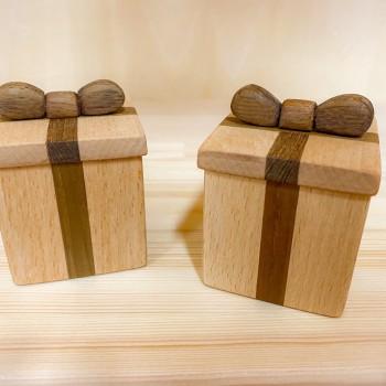 【Blog】がんばる大林「木のプレゼントBOX」
